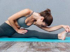 节后快速减肥 十分钟拉伸燃脂又塑形