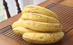 带黑点的香蕉能不能吃?